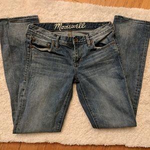 Madewell | Rail straight jeans 28